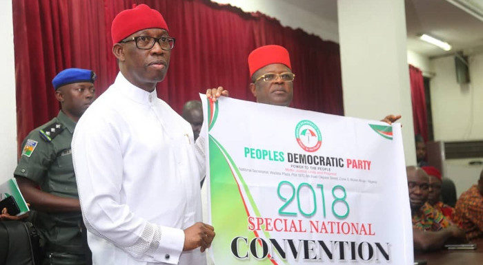 PDP National Convention: Party Leaders Disagree Over Venue  **As Gov. Okowa Heads Convention Planning C'ttee