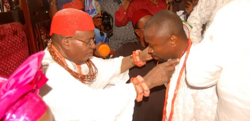 Chief Edo Congratulates Igbide Monarch HRM Obukeni 1 On 44th Coronation Anniversary