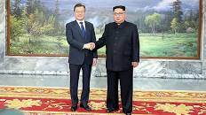 Denuclearisation: North, South Korea Presidents Parley