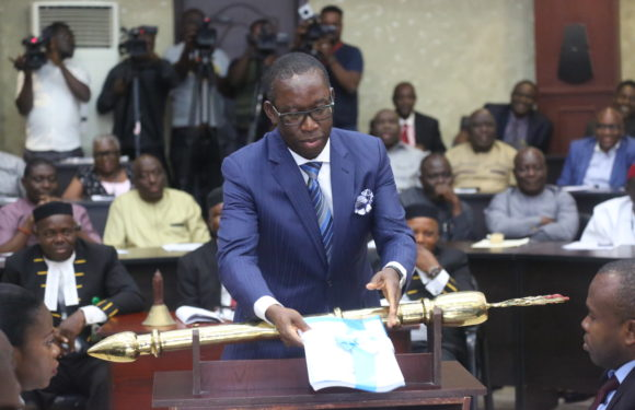 Gov. Okowa Presents N367, 09 Bn Budget Proposal For 2019 Fiscal Year