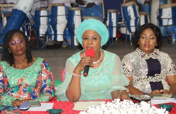Dame Okowa Interacts With Delta Queen Mothers **Urges Them To Pray, Preach Peace, Love, Unity