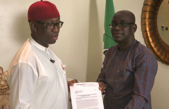 "Vanguard Names Okowa ""2018 Governor Of The Year"""