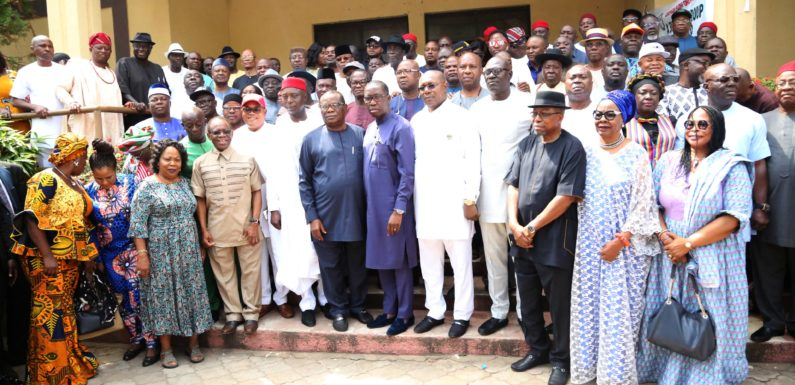 OKOWA CALLS FOR ISSUE BASED CAMPAIGN… AS DELTA STATE PDP INAUGURATES CAMPAIGN COUNCIL