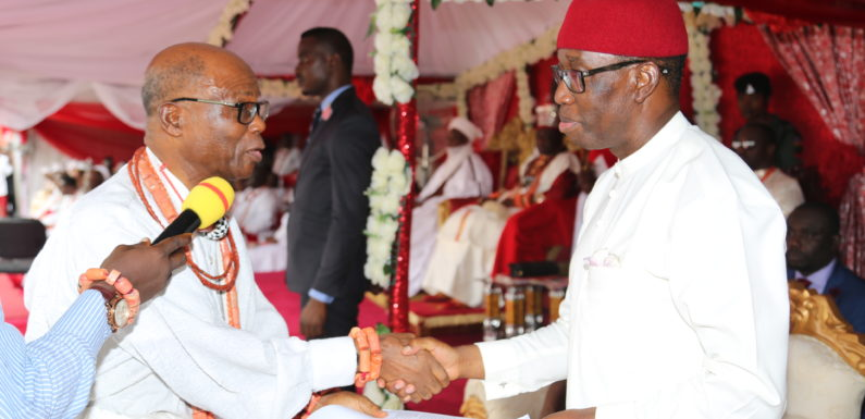 Buhari, Okowa, Sultan Call For Unity  … As Olu Of Warri Marks 3rd Year On Throne