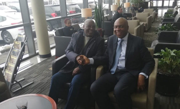 APC Fidgets As Atiku Visits The US With Saraki