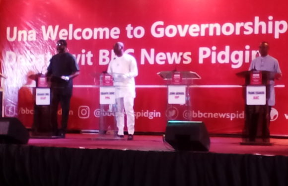 BREAKING NEWS…….  Okowa, Ogboru, Akwara Shun BBC Governorship Debate