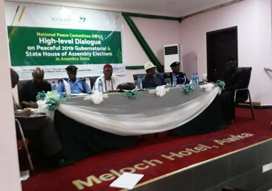 Abdulsalami Abubakar Calls For Peaceful Conduct Of State Assembly Election As NPC Holds Dialogue In Awka