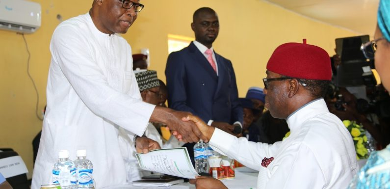 Re-Election: Okowa, Otuaro Receive Certificate Of Return … Urges Deltans To Help Build Stronger Delta