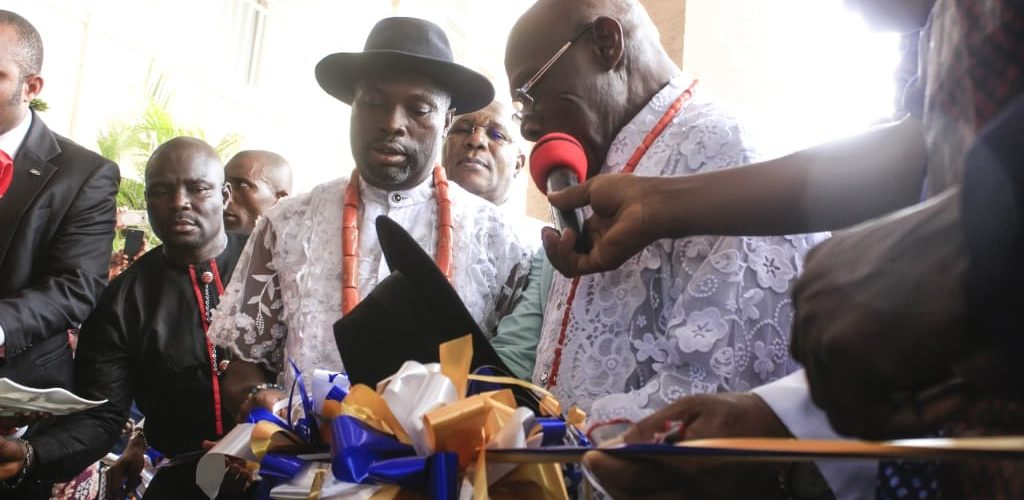 Obasanjo Commissions World Class Hotel At Oleh **Gov. Okowa Hails Project **As Omoyibo Empowers Graduands, Women