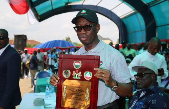 WORKERS' DAY: Okowa Set To Pay New Wage   *Presents Car To Civil Servant Who Returned N53m To Govt