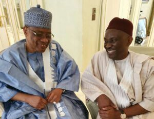 Elumelu Felicitates With IBB @ 78