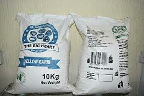 Delta Yellow Garri Brands In Int'l Market **As Foods Export Initiative Hits Grocery Shops In UK