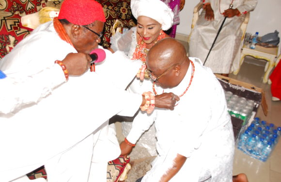 ISOKO TRADITIONAL COUNCIL HONOURS ASKIA OGIEH WITH CHIEFTAINCY TITLE