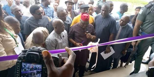 Encomiums Pour In As Bashorun Askia Commissions DESOPADEC Projects In Isoko