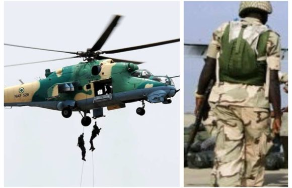 NAF JETS NEUTRALIZE SEVERAL TERRORISTS AT BUKAR MERAM IN BORNO STATE
