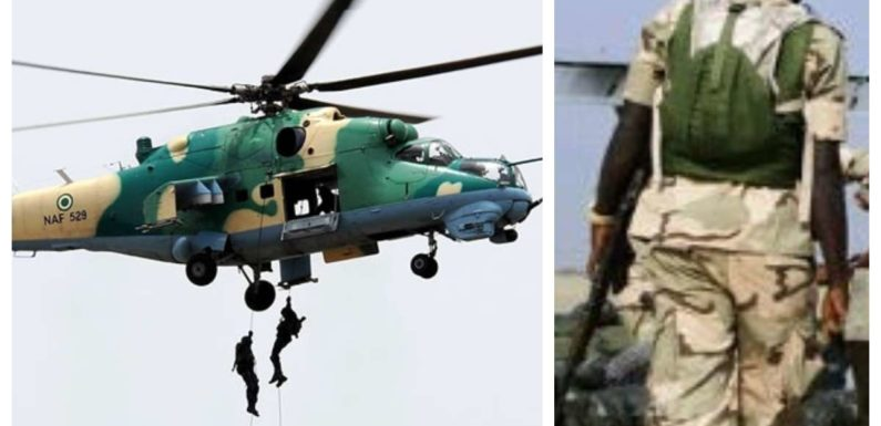 TERRORISTS SUFFER LOSSES IN NORTHERN BORNO **AS NAF DESTROYS HIDEOUT AT ARRINNA CIKI