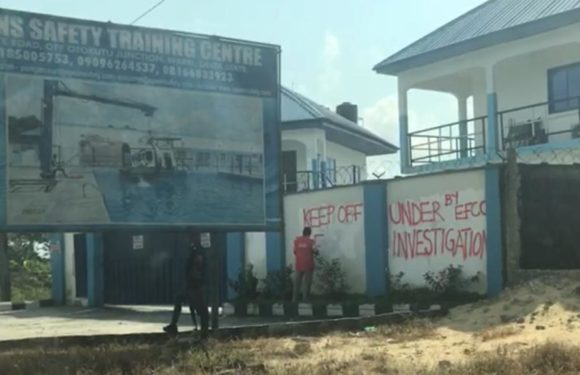Fraud Allegations: EFCC Seals Opeans Offshore Safety Training Centre In Warri