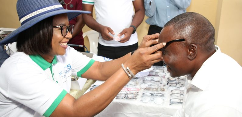 O5 INITIATIVE, FIDELITY BANK CSR AT OWA-OYIBU: Dame Okowa Seeks Support From Corporate Bodies, Individuals