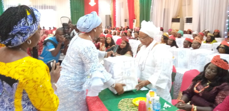 Dame Okowa Fetes Wives of Delta Trad Rulers, Urges Them To Be Society's Positive Change Agents