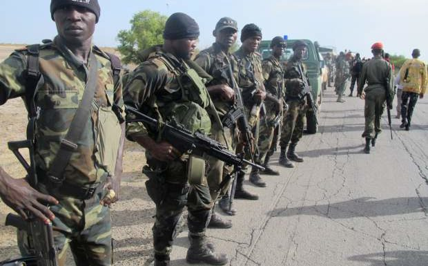 Soldiers, MOPOL Reconnect Maiduguri Back To Nigeria