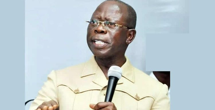 ADAMS OSHIOMHOLE: IN THE EYE OF THE STORM