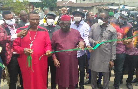 DESOPADEC Commissions Projects Across Isoko *Askia Gets Commendation