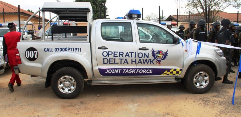 "Delta Security Outfit ""Operation Delta Hawk"" Kicks Off"