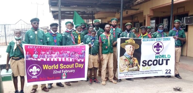 World Scout Day: Plans To Re-intergrate Movement In Delta Schools-Scout Co-ordinator