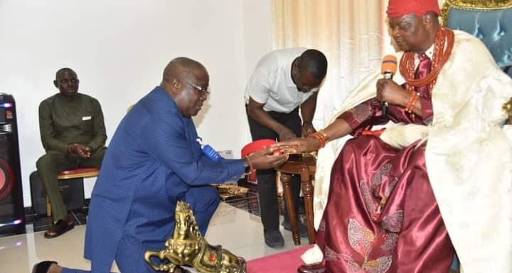 Agbon Monarch Hails Bashorun Askia For Quality Service Delivery In DESOPADEC