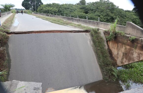 Delta Govt Hands Over Collapsed Uzere/Asaba-Ase Road Bridge To Contractor *Askia Thanks Okowa, Assures Quick Completion