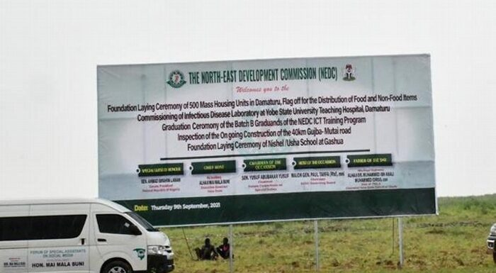 NEDC Says Boko Haram Destroyed 500,000 Structures In North East