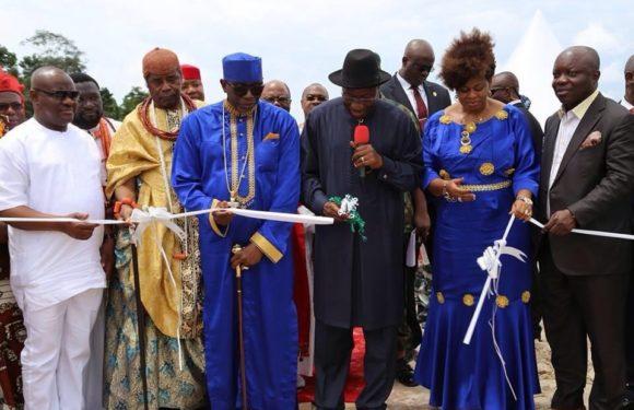 Education: President Jonathan Breaks Ground For New Varsity In Delta