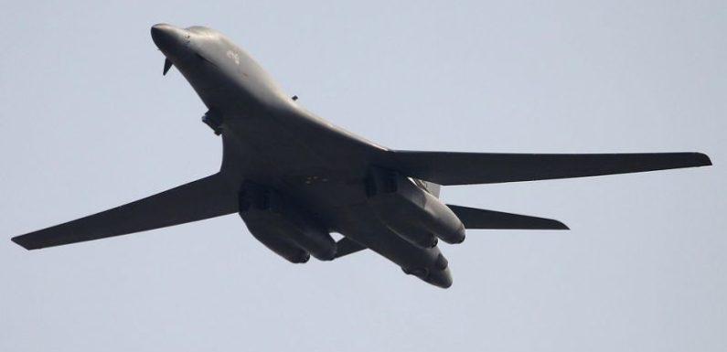 US military plans B-1 Bomber strike on North Korea missile sites