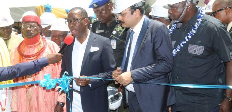 Old Wine In New Bottle: 36 Years After DSC Flag-Off, Okowa Commissions Multi-Billion Dollar Steel Plant In Aladja