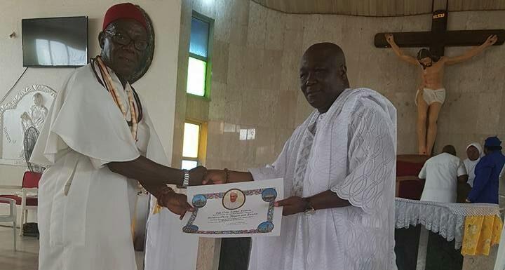 Bashorun Askia Gets Prestigious Papal Award