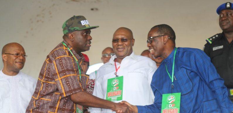 2019 Polls: Gov. Okowa Emerges Delta PDP Guber Flag Bearer