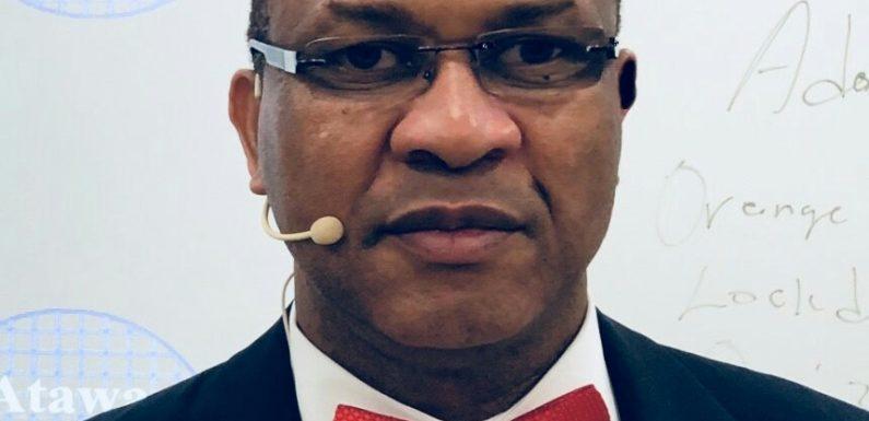 US based Nigerian Cybersecurity Expert Atawa-Akpodiete to address PMI Nigeria Nov 1 **Plans to train 36,000 Nigerians in ICT.