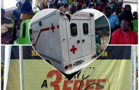 Bashorun Askia Foundation Free Medical Fair Kicks Off In Delta  ***As Gov. Okowa Hails Humanitarian Gesture