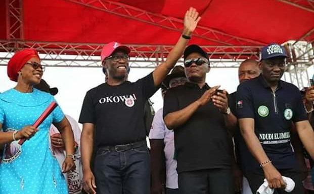 PDP Campaign: Okowa Preaches Unity, Assures Of Poll Victory … Campaigns In Asaba, Issele-Uku, Akwukwu-Igbo