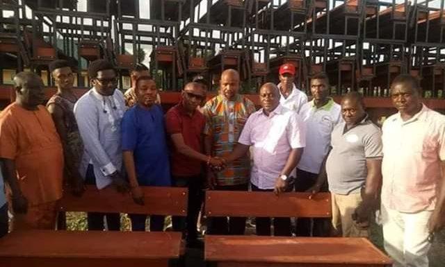 "Bashorun Askia Donates To School To Fulfil Gov. Okowa's SMART Agenda   *Conferred With ""ADIKIHEKEGBA"" Title In Umeh"