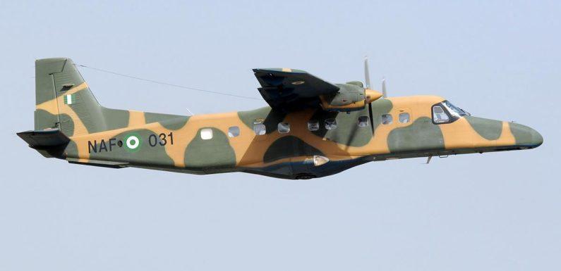 NAF AIRCRAFT DESTROYS BOKO HARAM TERRORISTS' GUN TRUCKS AT BORGOZO IN BORNO