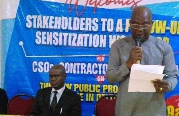 Delta Public Procurement Commission Parleys Stakeholders  **DG Okeze Assures Enlightenment On Reforms