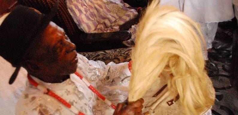 FLOODING: Uzere Community Celebrates Pa Ogor Amadhe's Return