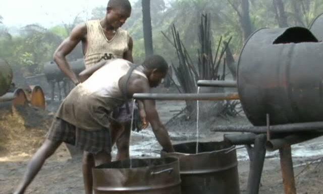 NAVY DESTROYS ILLEGAL REFINERIES IN DELTA, BENIN-RIVER BASIN **WARN OPERATORS